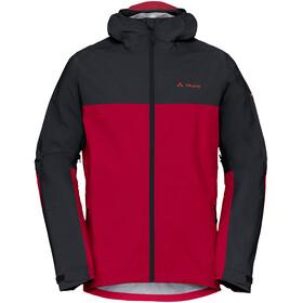 VAUDE Moab - Veste Homme - rouge/noir